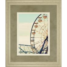 """Retro Ferris"" By Gail Peck Framed Print Wall Art"