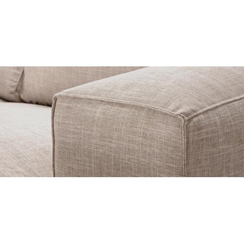 Eclipse Sectional (096-005; Wood legs - Tea T37)