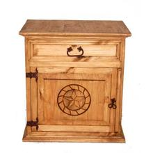 See Details - Mansion Nightstand W/ Rope Star