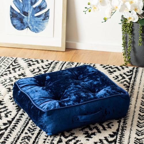 Primrose Floor Pillow - Navy