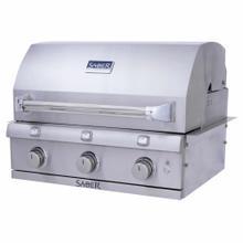Product Image - Premium 3-Burner Built-In Gas Grill