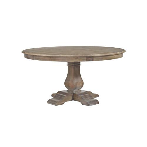 Trestle 5' Round Dining Table