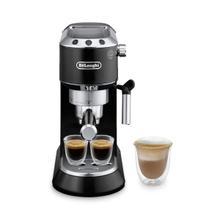 See Details - Dedica Manual Espresso Machine - Black - EC680BK
