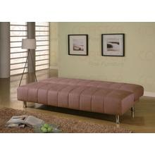 """See Details - SOFA BED,TAN 77""""Lx36""""Wx35-1/2""""H"""
