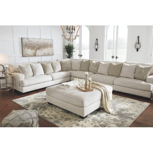 Rawcliffe Oversized Accent Ottoman