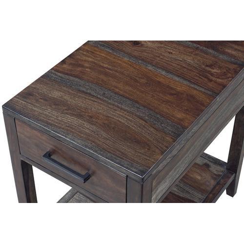 Porter International Designs - Fall River Obsidian Recliner Table - HC4496S01