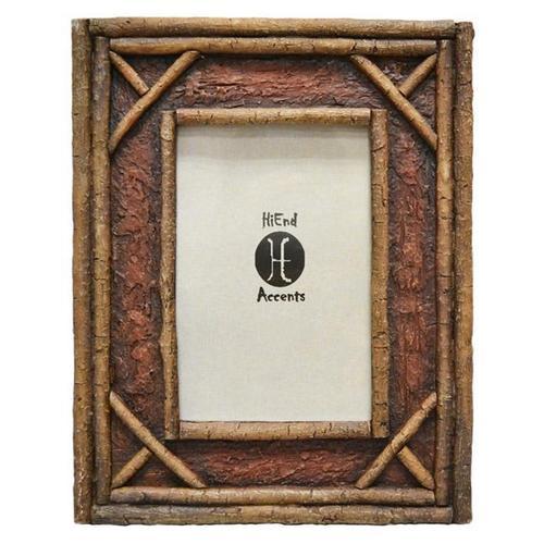 """Hiend Accents - Birch Twig Picture Frame (4x6/8x10) - 4"""" X 6''"""