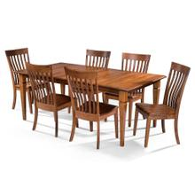See Details - Rectangular Table/4 sided taper legs & Nathan Chair