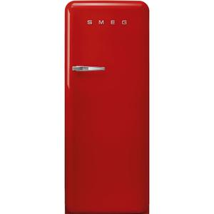 "Smeg24"" retro-style fridge, Red, Right-hand hinge"