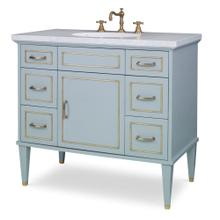 See Details - Toulouse Sink Chest - Polar Blue