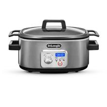 View Product - Livenza Programmable Slow Cooker with Stovetop Safe Cooking Pot - 6 Quart - CKS1660D