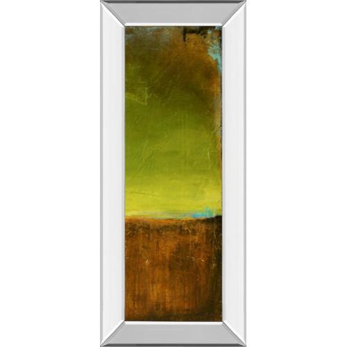 """Classy Art - """"Antigua Bay Il"""" By Erin Ashley Mirror Framed Print Wall Art"""