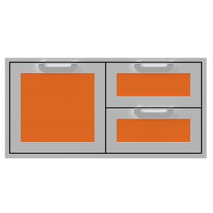 """42"""" Hestan Outdoor Combo Door/Drawer - AGSDR Series - Citra"""