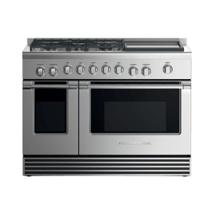 """Fisher & PaykelGas Range, 48"""", 5 Burners with Griddle, LPG"""