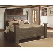 Juararo California King Poster Bed
