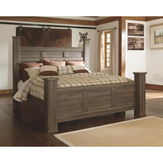 See Details - Juararo California King Poster Bed