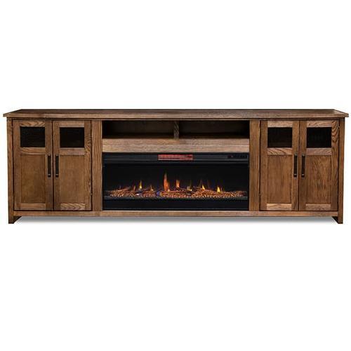 Maison Fireplace Super Console