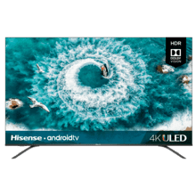 "55"" Class - H8 Series - 4K ULED Hisense Android Smart TV (2020)"