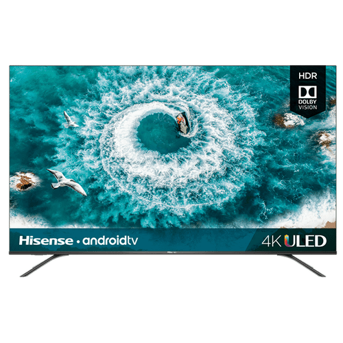 """55"""" Class - H8 Series - 4K ULED Hisense Android Smart TV (2020) SUPPORT"""