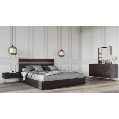 Nova Domus Benzon Italian Modern Dark Rovere Dresser