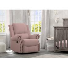 Drake Nursery Recliner Swivel Glider Chair - Blush (636)