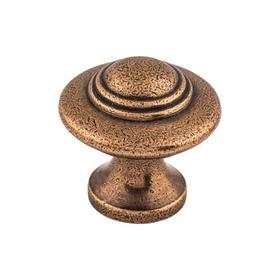 Ascot Knob 1 1/4 Inch Old English Copper