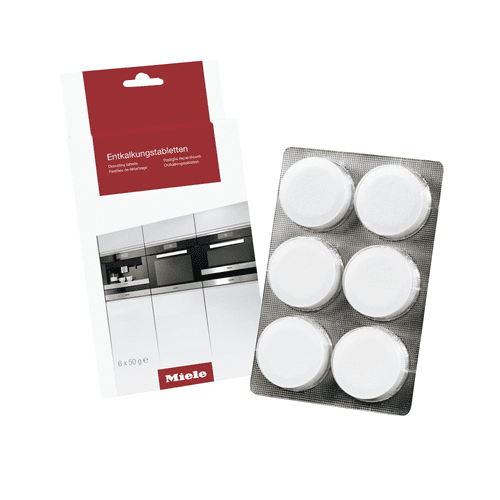 GP DC CX 0061 T - Descaling tablets, 6 tablets For coffee machines and steam ovens.