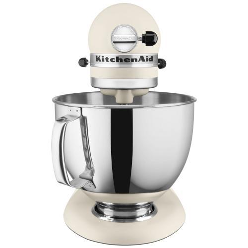 KitchenAid - Artisan® Series 5 Quart Tilt-Head Stand Mixer - Matte Fresh Linen