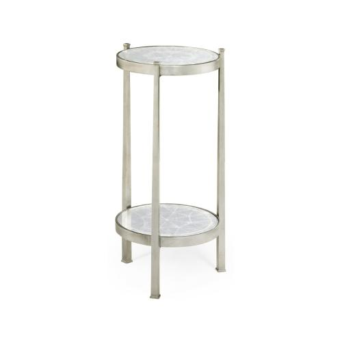 glomise & Silver Iron Wine Table
