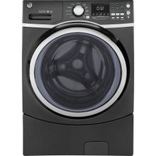 GE 5.2 Cu. Ft. Front Load Energy Star Electric Washer with Steam Diamond Grey - GFW450SPMDG