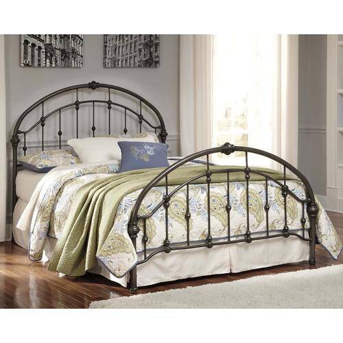 Signature Design By Ashley - Nashburg Queen Metal Bed
