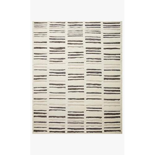BEN-01 Ivory / Charcoal Rug