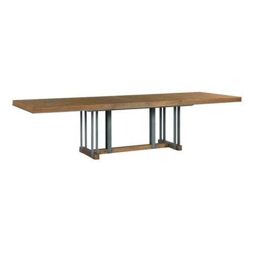 American Drew - Curator Rectangular Dining Table Complete