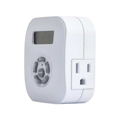 Plug-in Programmable Timer Atw-p24 - WHITE