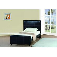7517 PU Platform Bed - TWIN