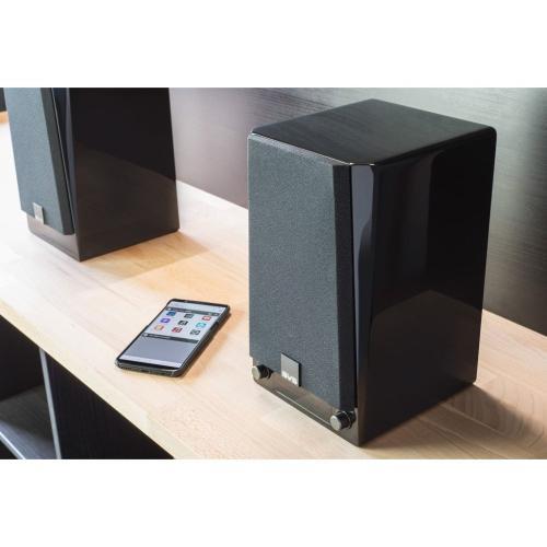 Prime Wireless Powered Speaker System - Piano Gloss Black