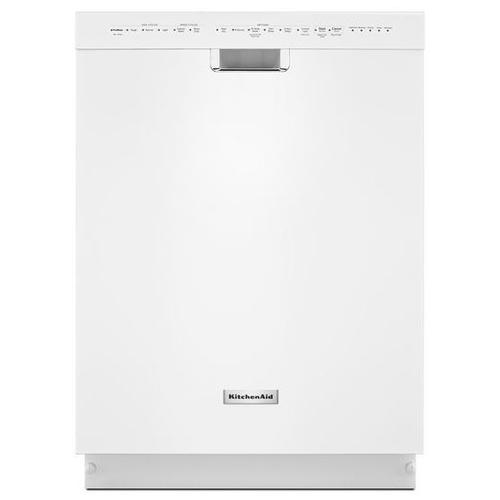 KitchenAid® 46 dBA Dishwasher with ProScrub™ Option - White