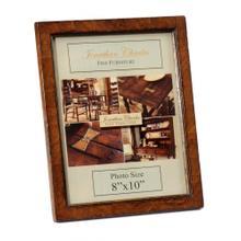 "Crotch walnut picture frame (8""x10"")"