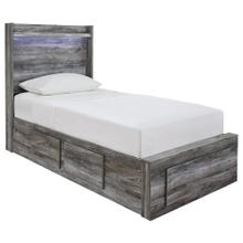 Baystorm Twin Panel Bed With 3 Storage Drawers