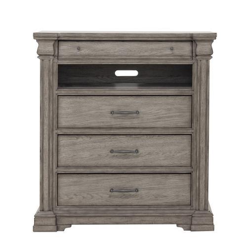 Pulaski Furniture - Madison Ridge 3 Drawer Media Chest in Heritage Taupe