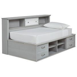 Arcella Twin Bookcase Bed