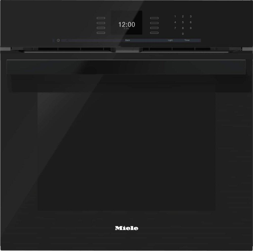 MieleH 6660 Bp Am - 24 Inch Convection Oven With Airclean Catalyzer And Roast Probe For Precise Cooking.