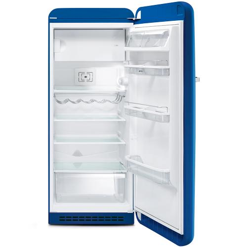 """Approx 24"""" 50'S Style Refrigerator with ice compartment, Blue, Right hand hinge"""