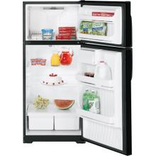REFUBISHED Hotpoint® 16.6 Cu. Ft. Top-Freezer Refrigerator.  (This is a Stock Photo, actual unit (s) appearance may contain cosmetic blemishes.  Please call store if you would like actual pictures).  This unit carries our 6 month warranty, MANUFACTURER WARRANTY and REBATE NOT VALID with this item. ISI 42172