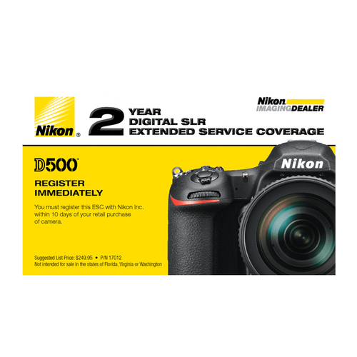 D500 Extended Service Coverage (2 Years)