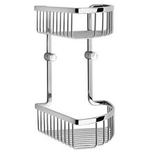 Corner Shower Basket, Double
