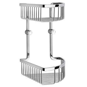 Corner Shower Basket, Double Product Image