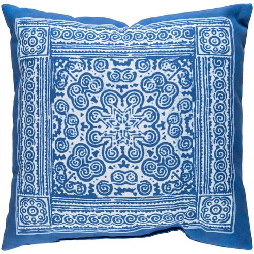 "Indigo Blues ID-008 20"" x 20"""