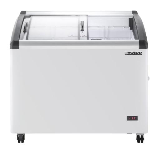 MXF40CHC-4 Chest Freezer Display, Curved Top