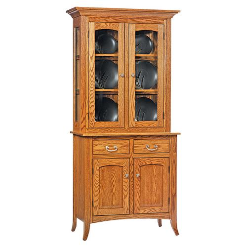2-Door Shaker Hutch & Buffet